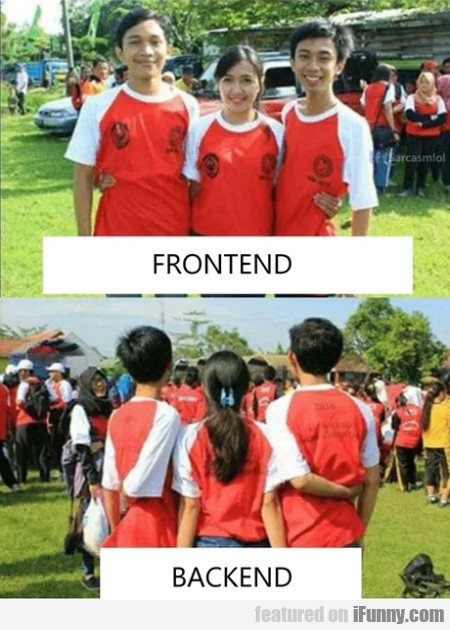 Frontend - Backend