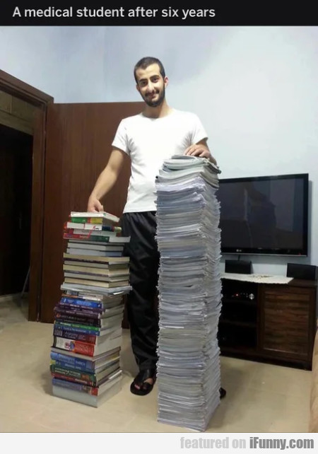 A Medical Student After Six Years
