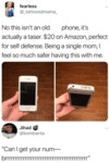 No This Isn't An Old Phone, It's Actually A Taser