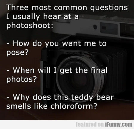 Three Most Common Questions I Usually Hear At A...