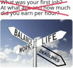 What Was Your First Job? At What Age And How Much.