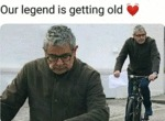 Our Legend Is Getting Old