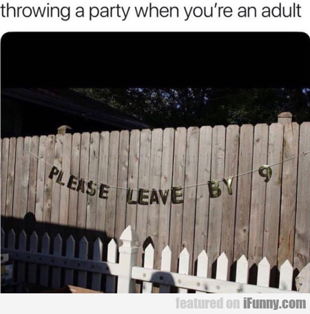 Throwing A Party When You're An Adult