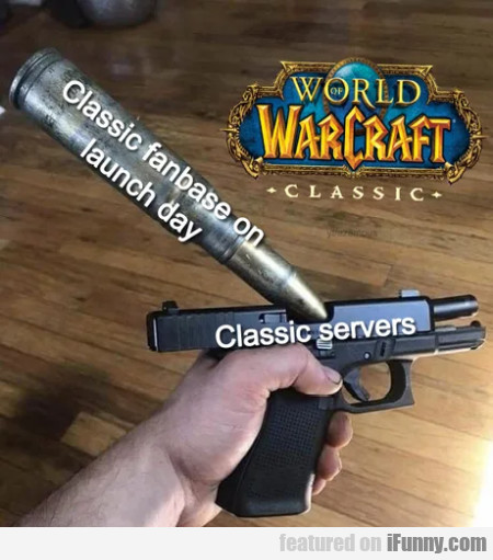 Classic Fanbase On Launch Day - Classic Servers