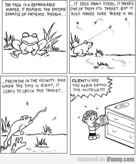 The Frog Is A Remarkable Hunter. It Displays...
