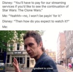 Disney - You'll Have To Pay For Our Streaming...