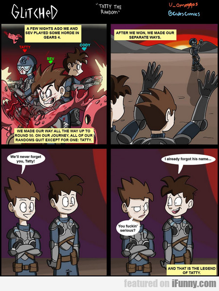 A Few Nights Ago Me And Sev Played Some Horde...