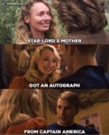 Star-lord's Mother Got An Autograph From...