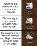 Using An Old Meme Format To Make Your Content...