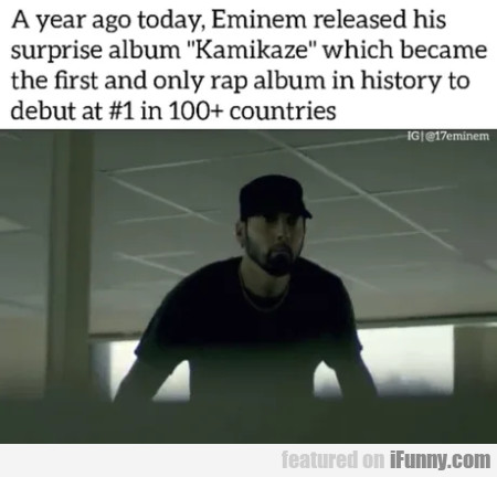 A Year Ago Today, Eminem Released His Surprise...