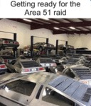 Getting Ready For The Area 51 Raid
