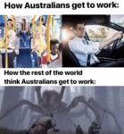 How Australians Get To Work - How The Rest Of...