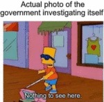 Actual Photo Of The Government Investigating...