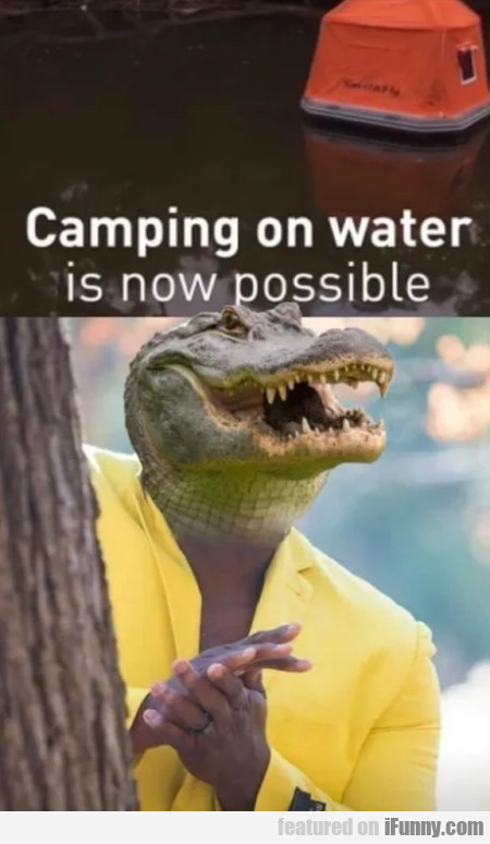 Camping On Water Is Now Possible