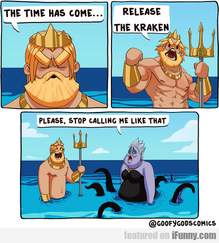 The Time Has Come... Release The Kraken!
