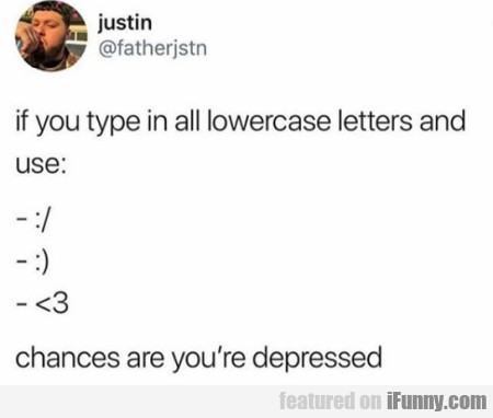 If You Type In All Lowercase Letters And Use...