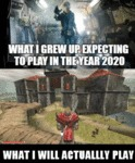What I Grew Up Expecting To Play In The Year 2020