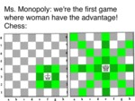 Ms. Monopoly - We're The First Game Where Woman