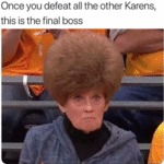 Once You Defeat All The Other Karens This Is The..