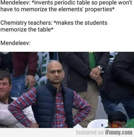 Mendeleev - Invents Periodic Table So People...