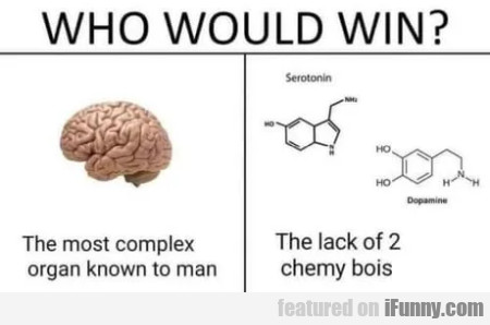 Who would win? The most complex organ...