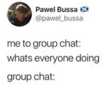 Me To Group Chat