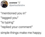 Mentioned You In Tagged You Is Typing