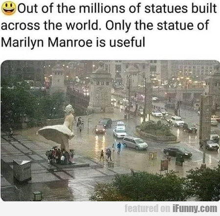 Out of the millions of statues built across the...