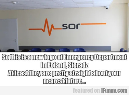 So this is a new logo of Emergency Department...